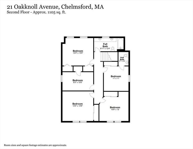 21 Oak Knoll Avenue Chelmsford MA 01824