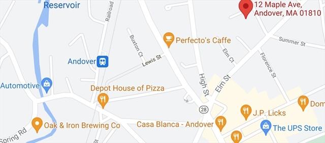 12 Maple Avenue Andover MA 01810
