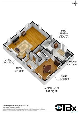 1041 Monponsett Street Hanson MA 02341