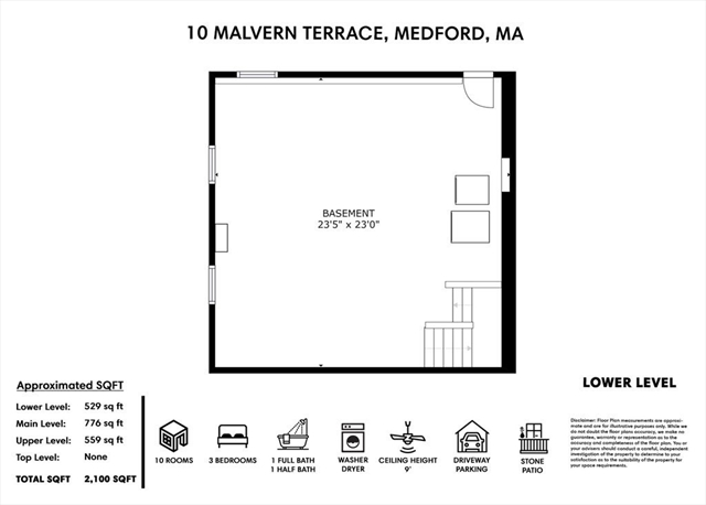 10 Malvern Terrace Medford MA 02155