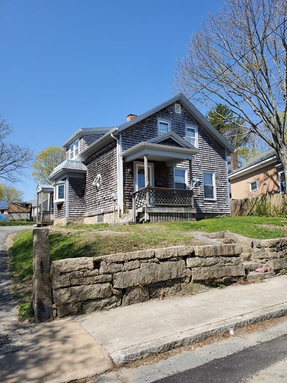 LARGE 1/3 ACRE in Fall River. WOW. Family outings in the back yard. East end of fall river  Fireplace in living room, dining room, eat-in kitchen, 1.5 baths, new roof, boiler updated, recently installed hot water heater, hardwood floors. near Westport line.  OPEN HOUSE CANCEL SATURDAY JUNE 19TH CANCELLED