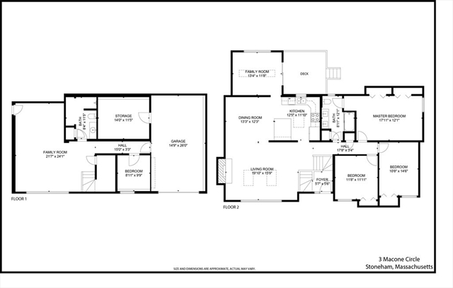 3 Macone Circle Stoneham MA 02180