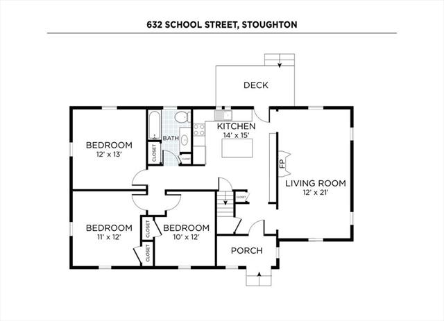632 School Street Stoughton MA 02072