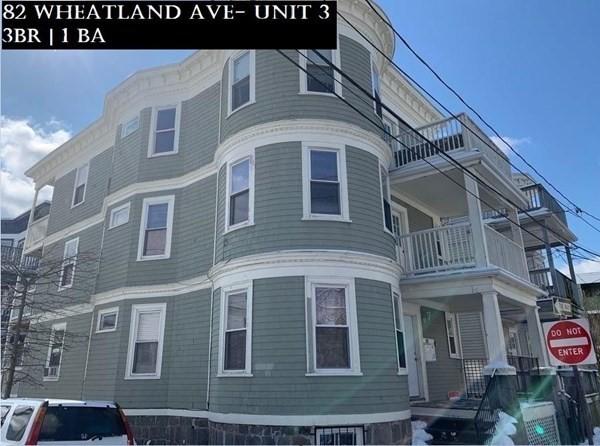 82 Wheatland Avenue Boston MA 02124
