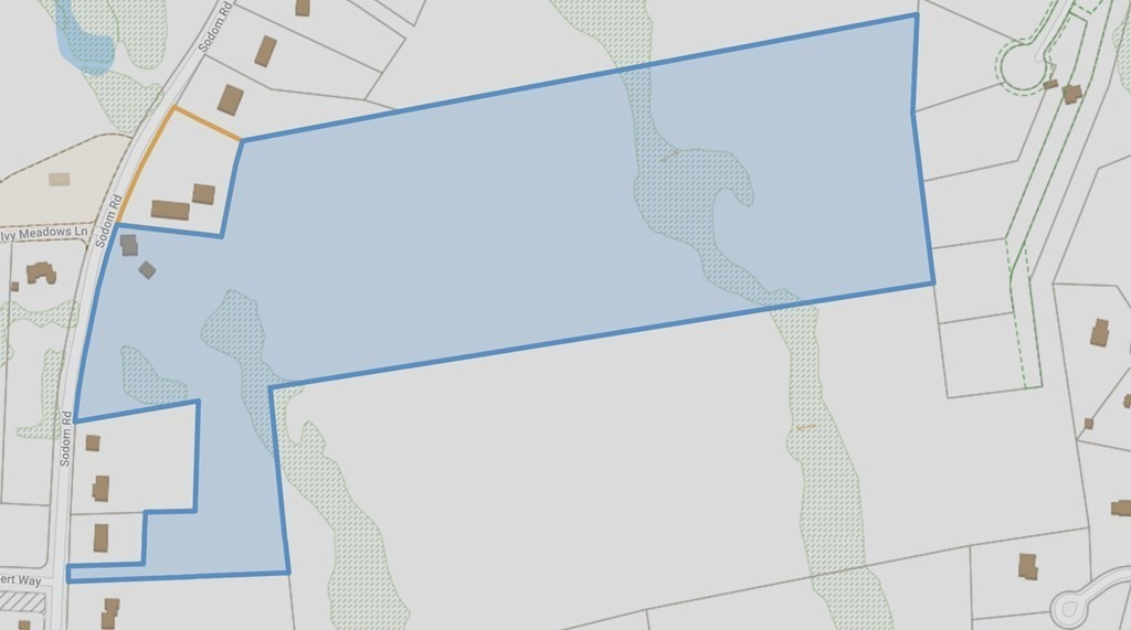 Ivy Meadow Farm - 38 acres for sale.  Home and storage buildings are included in this price. Possible 7 house lots or more including the house.  872 feet approx. of frontage.  408C Sodom Road is zoned mix use. (storage and warehouse). Home is in amazing condition with detached garage.  Properties have endless possibilities. No percs have been done.  Buyers to do due diligence.