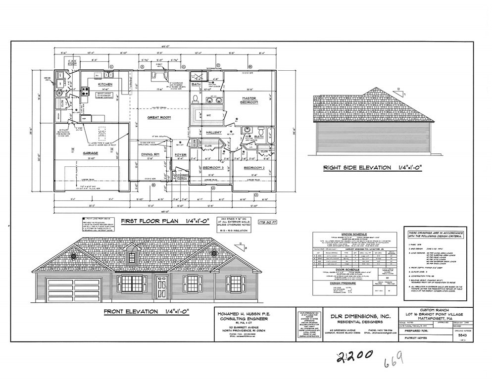 WELCOME TO BRANDT POINT VILLAGE A NEW DEVELOPMENT IN MATTAPOISETT, THIS BRAND NEW SPRAWLING EXECUTIVE RANCH OFFERS 2200 SQFT OF OPEN LIVING WITH 3 BEDS, 2 FULL BATHS, GRANITE STAINLESS KITCHEN, HARDWOODS, PROPANE GAS HEAT, CENTRAL AIR, 2 CAR GARAGE W/ PULL DOWN STAIRS TO LOFT FOR STORAGE. ALL THIS ON A 17000 SQFT LOT. CALL NOW