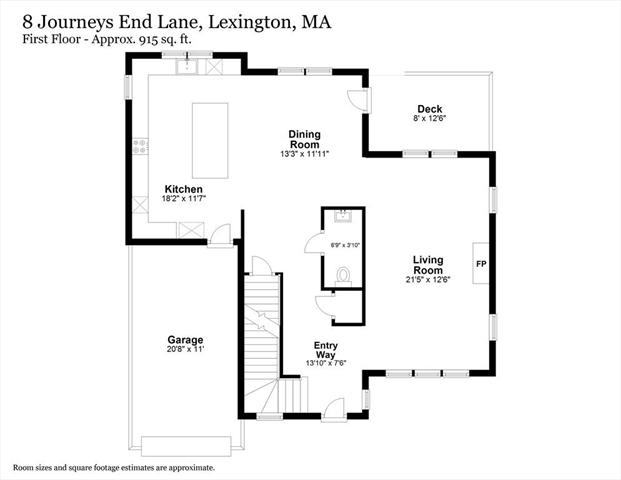 8 Journey's End Lane Lexington MA 02421