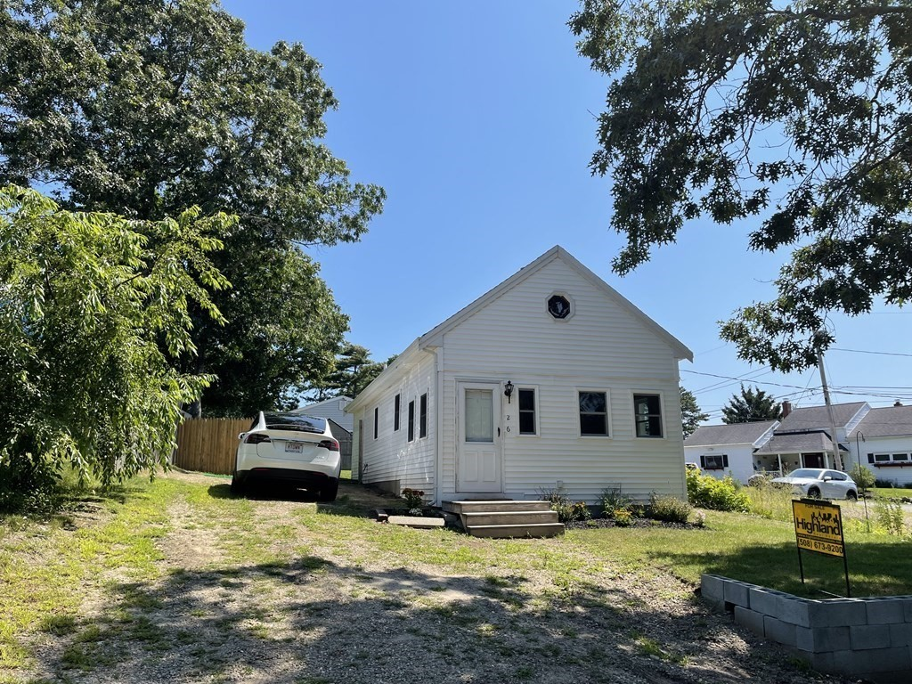 Interior of this home is being painted and new flooring installed. Great Summer Cottage in the Agawam Lake Shore Community with one bedroom and den and 2 loft areas which can be used for storage. Can be used Year Round. Use of Club House and Beach for only $30 annual membership fee. No Showings until first open house on Saturday 6/12.