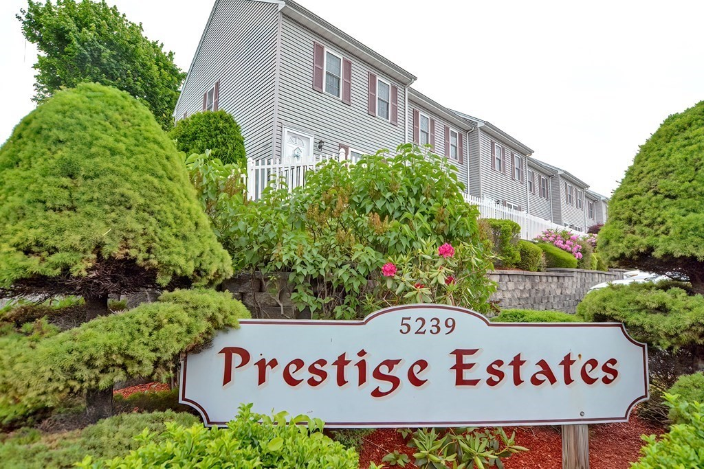 Great opportunity awaits you with this immaculate 2 bedroom 1.5 bath 3 level townhouse condo located at Prestige Estates in the north end of Fall River. This end unit Condo offers 3 floors roughly 1625 sqft of living space and a bunch of upgrades such as, fresh paint, brand new Heating and Cooling system, Custom built Tiled Shower, New Carpeting through out the third floor, finished lower level with a potential third bedroom or great space for a office, and a massive closet for additional storage! All Appliances to remain with the unit.  Eat in kitchen with slider leading out your own deck, Spacious living room with hardwood flooring, built-in gas fireplace with mantle. Pets allowed up to 40lbs. Assigned parking spots right in front of the building with additional visitor parking close by. Just minutes from 195, rte 24, rte 79 as well as grocery, restaurants, waterfront dining, local parks and recreational amenities.