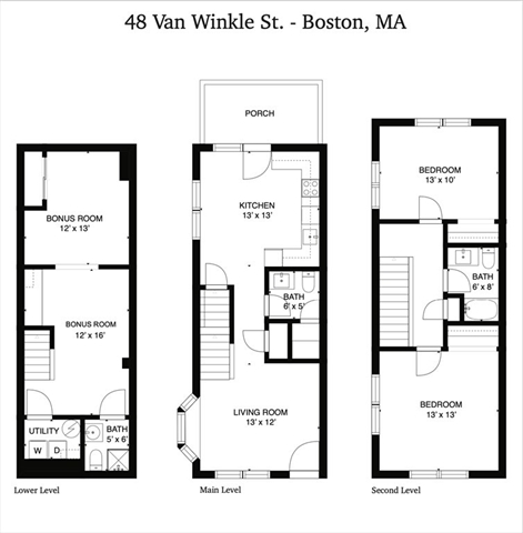 48 Van Winkle Boston MA 02124
