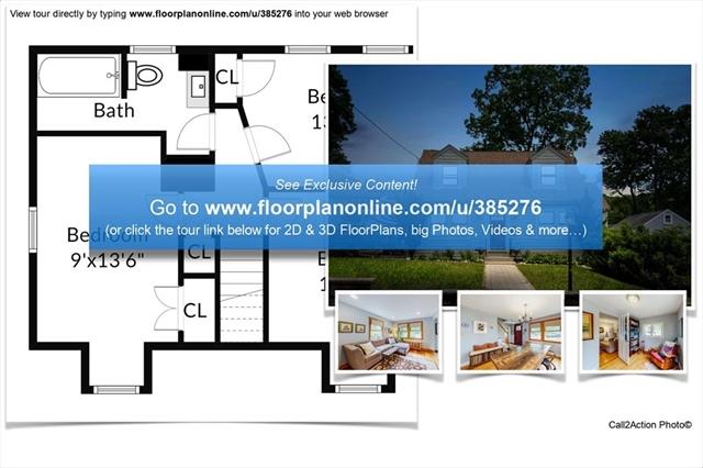 9 Rockwood Street Melrose MA 02176