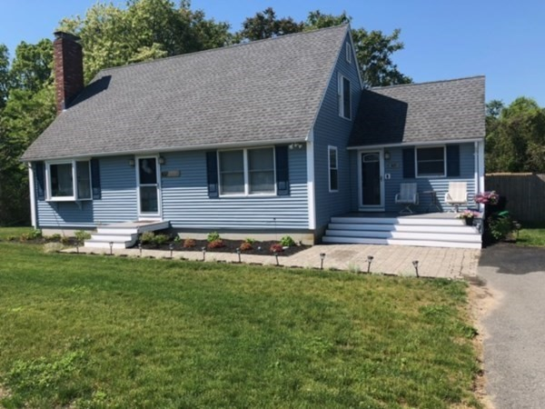 Beautifully Maintained Cape - Just move right in -  Vinyl Sided and Ample Off Street parking- 5.7 acre lot with a portion of the yard fenced off with a 12 x 22 Shed and Firepit- Septic is for a 3 bedroom home and this owner presently using as a 2 bedroom. Could easily be a 3 bedroom again. 2 Full Bathrooms and a Bonus room that is a combination office area-Kids Play area. First Showings will be an Open House from 12-2pm on 6/13. ALL HIGHEST AND BEST OFFERS ARE DUE BY MONDAY 6/14/21 AT 5PM.