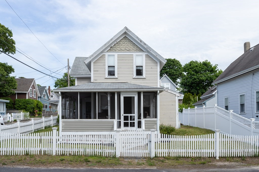Located on desirable Shell Point in Onset Village, this quaint summer cottage is looking for a new owner! This home boasts gleaming hard pine floors throughout, a spacious kitchen and dining area, and a large full bath with skylights. Charm and character can be seen in details like the stone sink, window molding, and beadboard. Enjoy summer nights and cookouts on the patio in the fenced backyard. The home is situated on a corner lot overlooking an inlet of Sunset Cove, a great spot to take a walk, drop a kayak, or do some shellfishing. Spend your evening on the front porch watching the sun set over the water. Take a short walk up the street to Onset Beach, shopping, and restaurants.