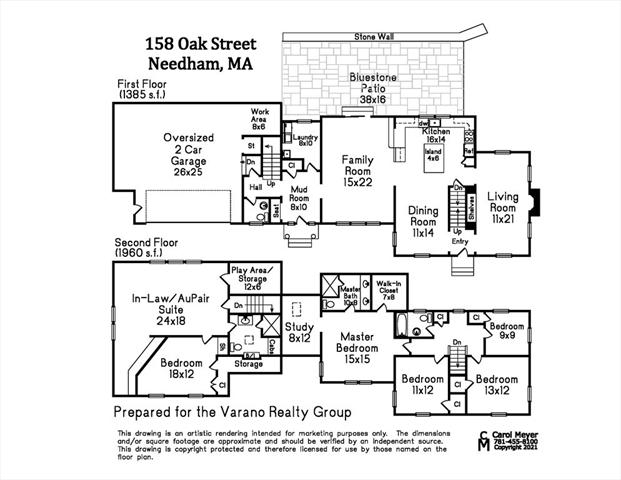 158 Oak Street Needham MA 02492