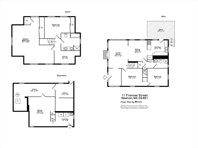 11 Frances Street Newton MA 02461