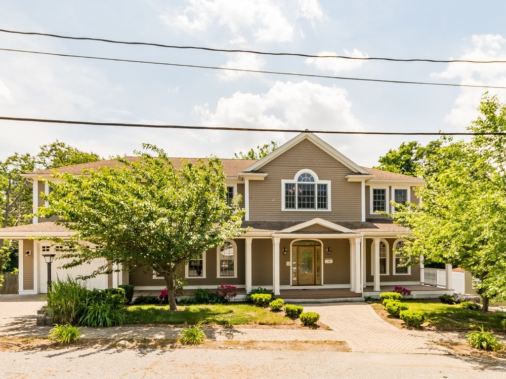 Move right in to this elegant & charming home located in one of West Medford's most desirable neighborhoods! The grand entrance features spacious foyer, stylish staircase, open concept and oversized living room, modern kitchen and warm fireplaced dining room. Recent kitchen renovation offers refined center island, stainless appliances and granite countertops. Gleaming hardwood floors and lunette windows throughout. Easy access to back deck from living and dining French doors making you the perfect host for any gathering. The second floor features beautiful master suite with large walk-in closet and spectacular bathroom, plus 3 more generously sized bedrooms, home office, and a lovely bathroom. The lower level features expansive play room, full bathroom and additional kitchen. Tree-lined fenced yard affords privacy and relaxing green view, with in-ground swimming pool. Close to highways, West Medford Square and commuter rail. Open house on Sat (6/12) & Sun (6/13) at 12-1:30pm.