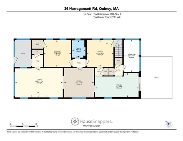 36 Narragansett Road Quincy MA 02169