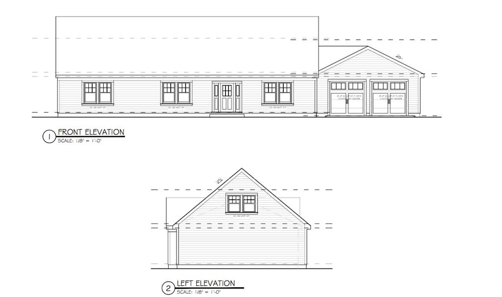 RARE Acushnet New Build Opportunity! This 2,000+ sf Ranch is a beautiful opportunity to own a brand new, one level home in the Town of Acushnet. This home features a large 2 car garage, 3 large bedrooms, and 2 full bathrooms. Still an opportunity to pick your finishes and customize the home to your preferences! This home will be situated on about a 11,000sf. lot. Don't miss out on this opportunity!!