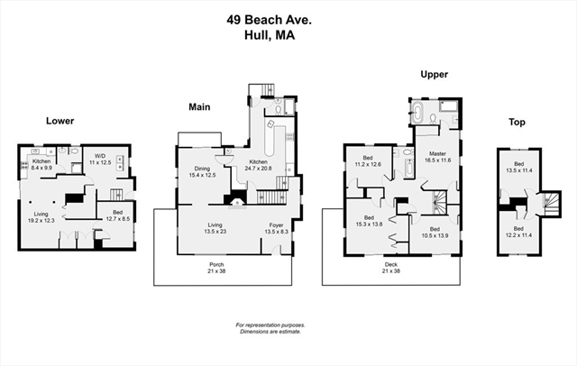 49 Beach Avenue Hull MA 02045