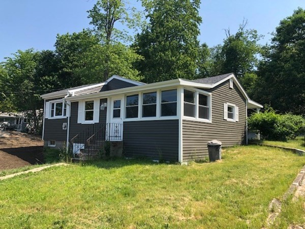 2 Bedroom Ranch with view of Long Pond with deeded beach rights. New septic system, recent roof, siding and vinyl windows. Situated on 1/3 of an acre corner lot.