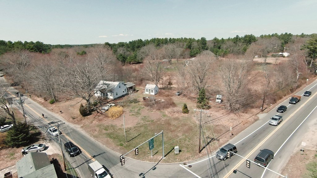 Bring your ideas!!! Incredible amount of potential with this business zoned property situated on 1.62 acres! This property has town water & gas already hooked up!! In close proximity to the Middleboro/Lakeville T-station, Rt. 495, & Middleboro Rotary with good drive-by traffic counts (attached). Attached you'll find engineered plans for a gas station/convenience store. Do you own a business & work from home? Front entrance could be configured right into an office/business space separate from the rest of the living area. The first floor of this property consists of a large eat in kitchen with cathedral ceilings, separate dining room, oversized living room and two bedrooms with a conjoining full bath. Upstairs you'll find three additional bedrooms & full bath. Accountant, chiropractor, funeral home, counselor, nail/hair business, live & work from home! Perfect! This property won't pass traditional financing. Cash/203K/hard money.