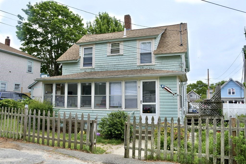 Cute as can be just a short stroll to Onset Village and Beach! This three bedroom home has hardwood floors, newer windows and enclosed front porch to sit back and relax. Fenced in yard with off street parking. Great for year round or summer home as well as a vacation rental.
