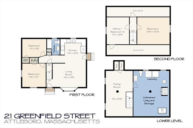 21 Greenfield Street Attleboro MA 02703