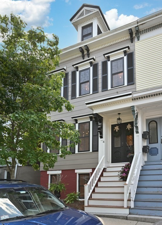 Stunning & sophisticated new 2021 renovated single family nestled on a bucolic street in a great Thomas Park locale. DEEDED AVAILABLE PARKING! Fully-renovated,  sun-drenched single family with 4 bedrooms and 2.5 baths spanning four levels, features high ceilings, extensive crown moldings, millwork, & exceptional finishes throughout. Main parlor level features spacious living and dining room, perfect for entertaining.  Expansive kitchen features fine cabinetry, Thermador appliances, pot filler, quartz, and is flanked by an oversize waterfall island. Exquisite baths feature Duravit and deluxe gold fixtures. Expansive top floor master features  spa bath & large closets. Garden level provides direct access to private outdoor urban oasis, complete with deck and fenced-in yard. Renovations include new roof, plumbing, windows, electrical and HVAC. Highly desirable location provides easy access to the best of area shops, dining, and beaches. This home is a gem! Parking available for purchase.