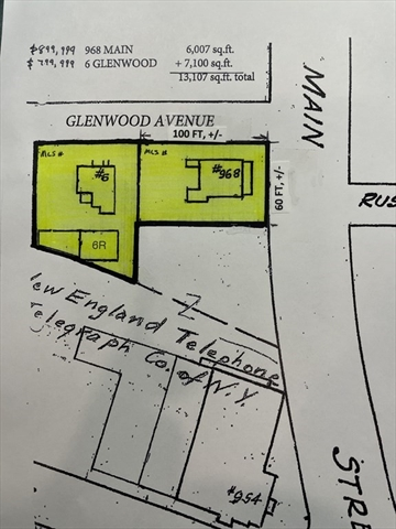 6 R Glenwood Ave (COML) Winchester MA 01890