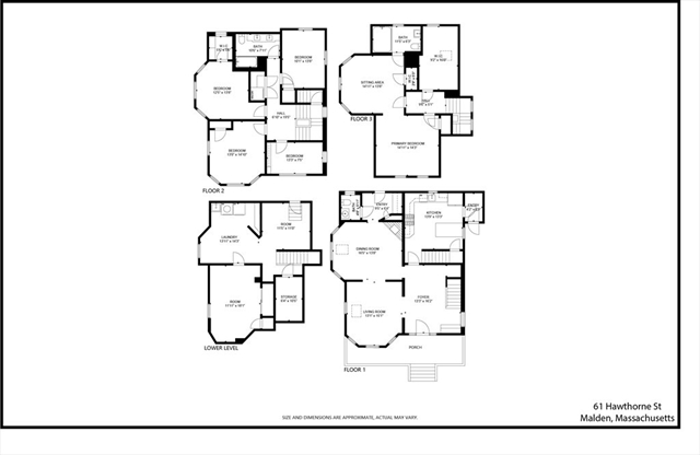 61 Hawthorne Street Malden MA 02148