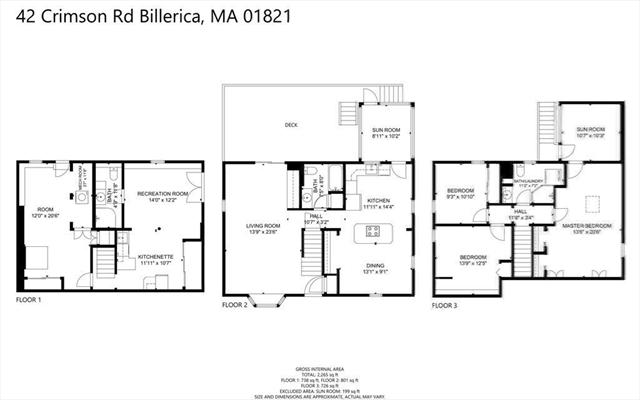 42 Crimson Road Billerica MA 01821