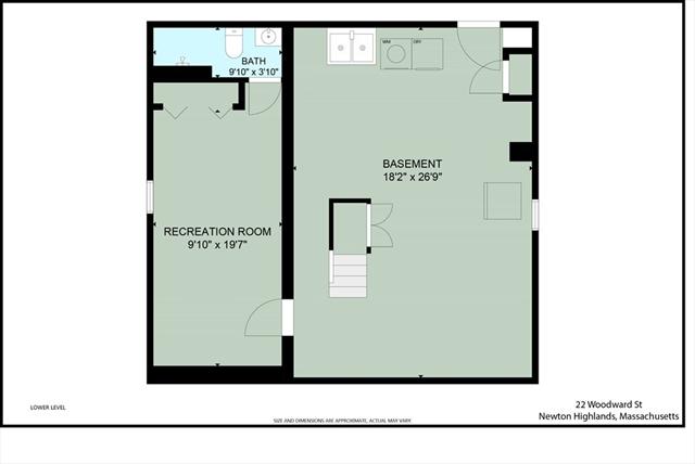 22 Woodward Street Newton MA 02461