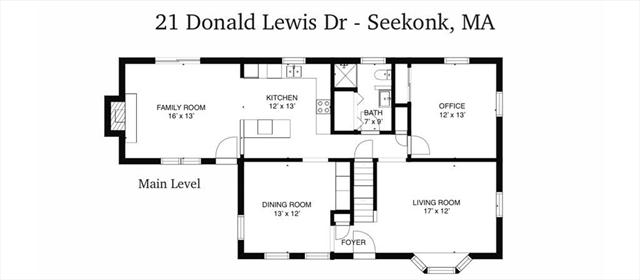 21 Donald Lewis Drive Seekonk MA 02771