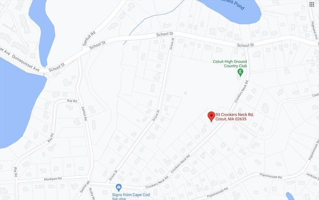93 Crockers Neck Road Barnstable MA 02635