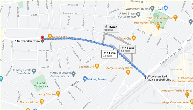 146 -152 Chandler Street Worcester MA 01609