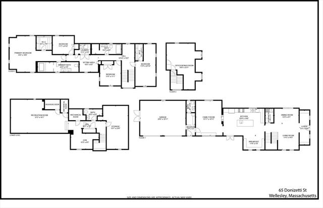 65 Donizetti Street Wellesley MA 02482