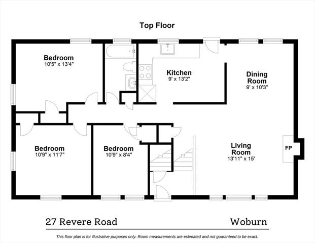 27 Revere Road Woburn MA 01801