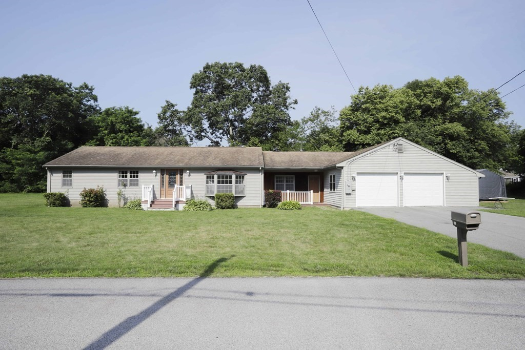 Welcome home! . Enjoy the wonderful ease of single level living in this oversized  2 bedroom, 2 bath lovely ranch with attached 2 car garage ! You will love the location too … a very quiet neighborhood on a dead end street in the beautiful town of Tiverton. Enter inside to the sun-filled with stone flooring to a spacious and open dining and living room. In addition there are two fully applianced kitchens, family room , 2 bedrooms, 2 full baths , laundry room on .6 acres of land which provides for a very well maintained lawn that your family will love ! Enjoy the outdoors???  You are in proximity to all that Tiverton offers: a 5 minute drive to the restaurants/shops of Tiverton Four Corners, nearby marinas, town boat ramp at Fogland and the nearby beaches .You can go fishing just down the road at Sawdy Pond , horseback ride or play golf at one of the local golf courses.  Please Come out and see this wonderful property ! Open House Saturday 10:30 to 12:00