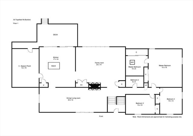 55 Topsfield Boxford MA 01921