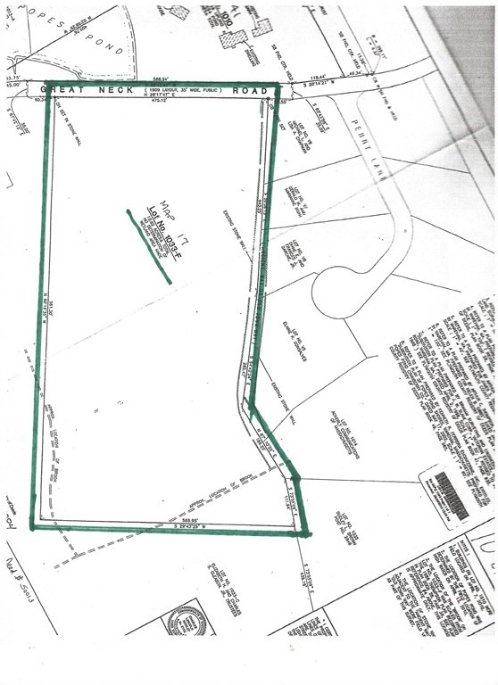 10.62 Acres of wooded farm land Possible 8 lot subdivision with 475' of Road Frontage on Great Neck Rd. Close by Little Harbor Beach and Golf course, Tobey Hospital, Proposed Railway station with great Highway access to routes 495, 195, 6 and 28.
