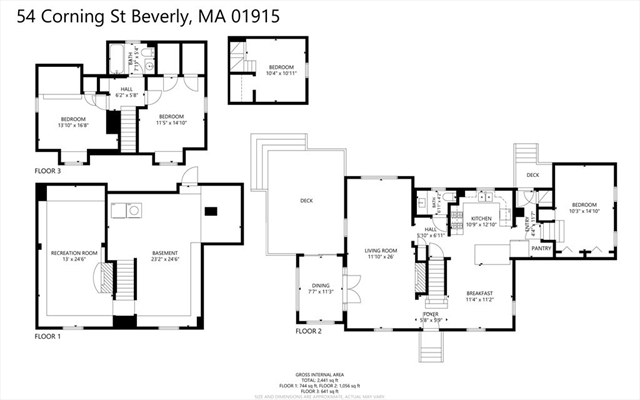 54 Corning Street Beverly MA 01915