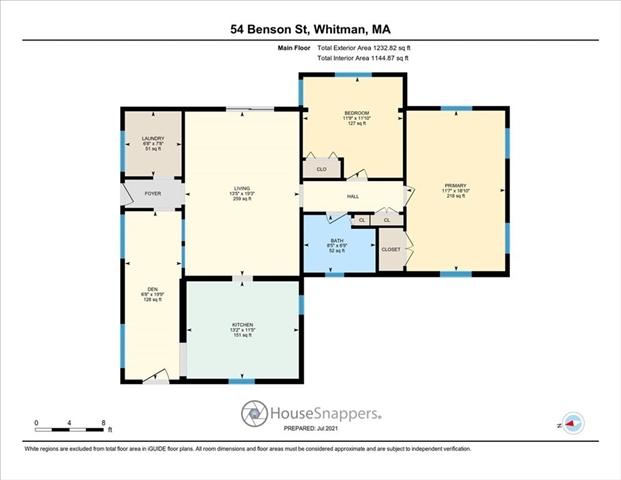 54 Benson Street Whitman MA 02382