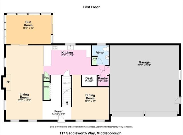 117 Saddleworth Way Middleboro MA 02346