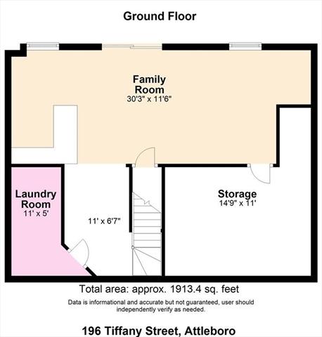 196 Tiffany Street Attleboro MA 02703