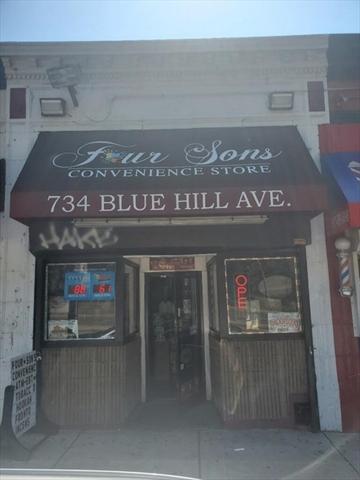 734 Blue Hill Avenue Boston MA 02124