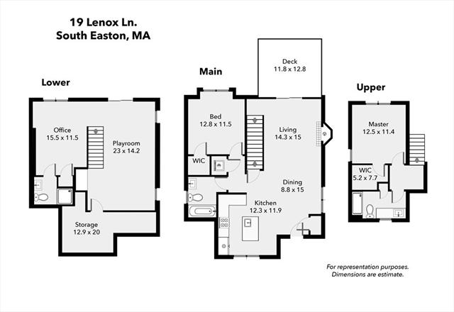 19 Lenox Lane Easton MA 02375