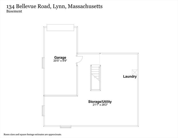 134 Bellevue Road Lynn MA 01904