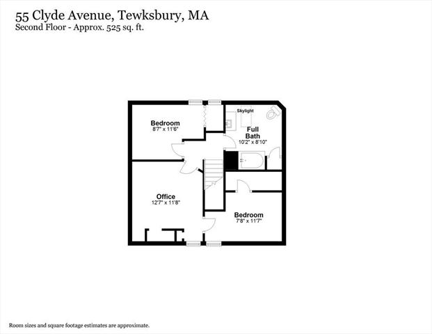 55 Clyde Avenue Tewksbury MA 01876