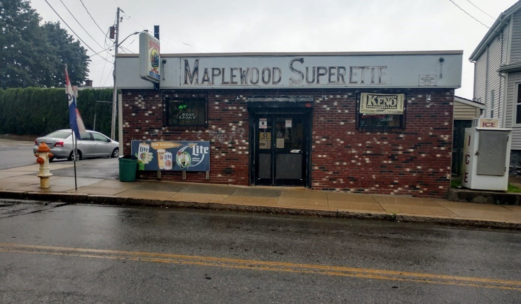 Maplewood Superette!  Don't miss out on this perfect opportunity to own your own well established business with beer/wine license, full lottery, & real estate included!!!  The current owners have lovingly cared for and updated most everything including roof, added a generator, new electrical, box, & lights, new alarm, new cameras, new shelving, redid walls with plywood and special tape, new drop ceilings, updated bathroom, updated office, updated kitchen with new stove & refrigerator, vinyl sided exterior, added 2 new heaters, new floors, off street parking, & much more!