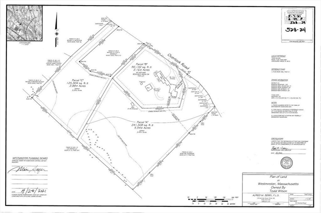 Lot C Overlook Road Westminster MA 01473